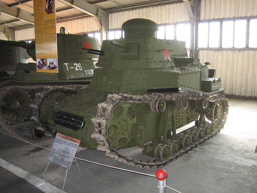 Т-18 в Бронетанковом музее в Кубинке