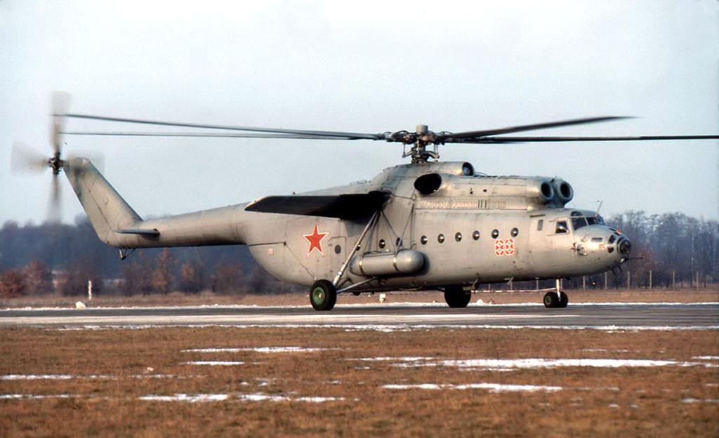 Ми-6 - советский тяжелый вертолет