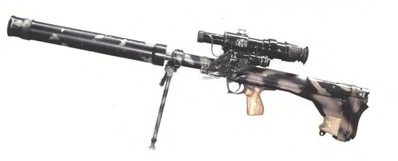 ОЦ-44 - крупнокалиберная снайперская винтовка