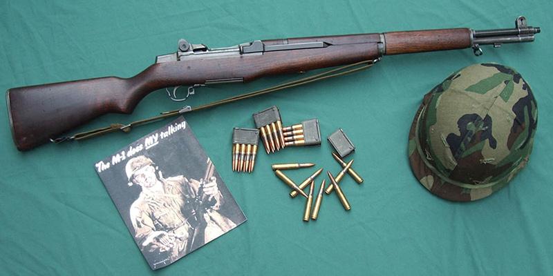 М1 Гаранд - американская винтовка Второй мировой войны 7,62-мм