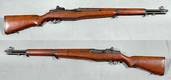 Винтовка M1 Garand - вид справа и слева