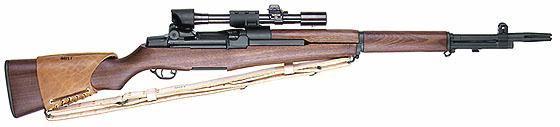 Garand M1D — снайперская винтовка