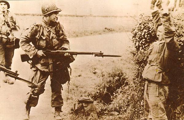 М1 Garand - американская самозарядная винтовка Второй мировой войны