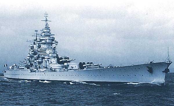 Французские линкоры типа 'Ришелье'
