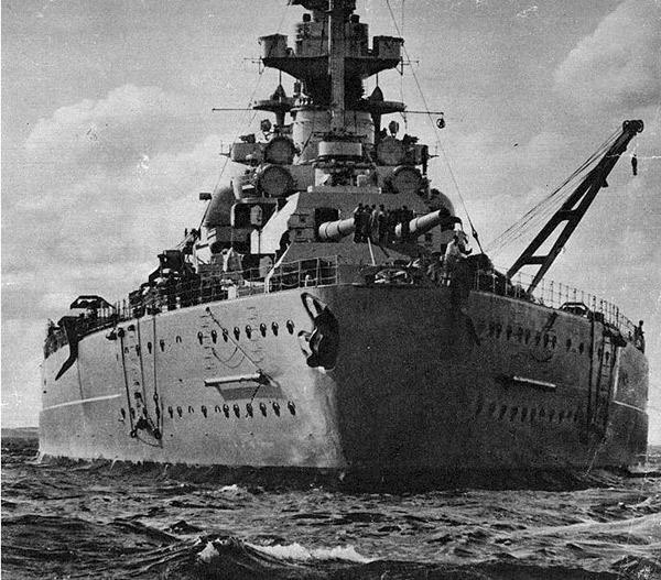 Немецкий линкор «Бисмарк» - корабль Второй мировой войны