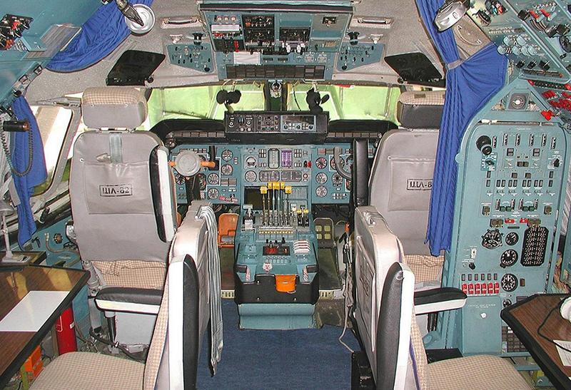 Кабина Ан-225 Мрия