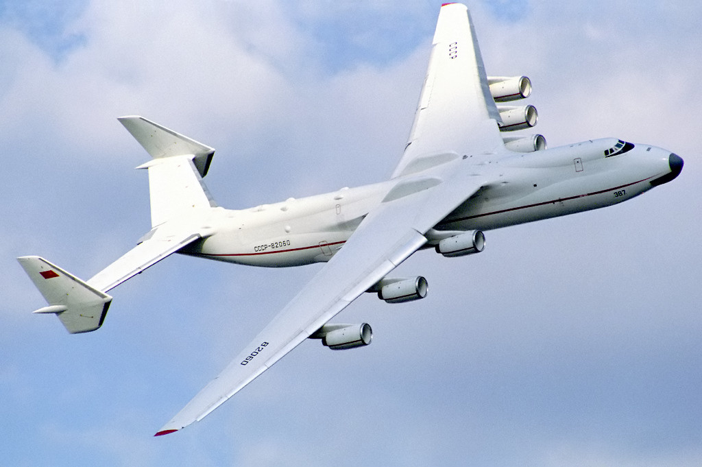 Ан-225 на авиасалоне Фарнборо, 1990 год