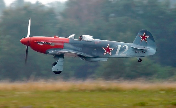 Истребитель Як-3