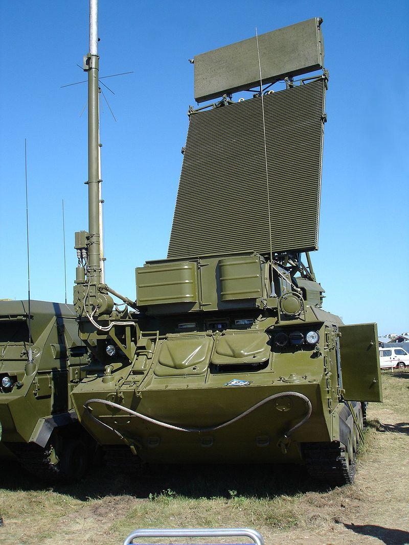 Станция обнаружения целей 9С18М1-1 комплекса Бук-М1-2