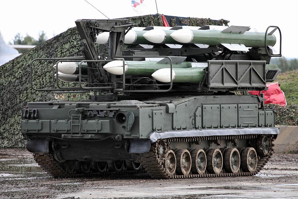 ПЗУ 9А39М1 ЗРК Бук-М1-2