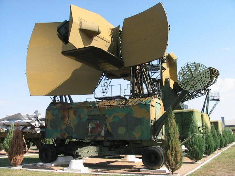 Антенный пост К-1В с радиолокатором подсвета цели 5Н62В системы С-200