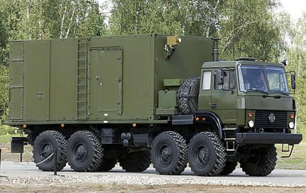 Командный пункт ЗРК С-400 55К6Е на шасси Урал-532301