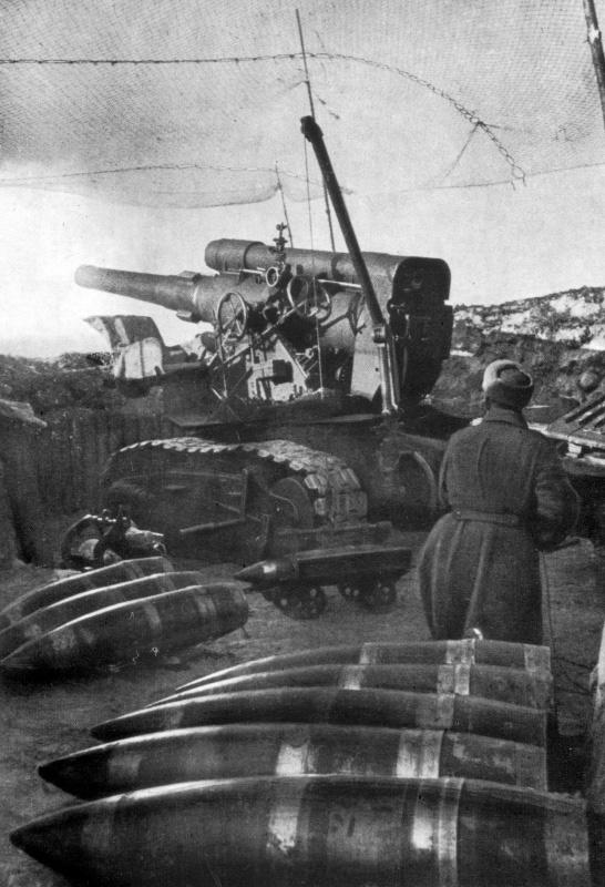 Б-4 - гаубица особой мощности образца 1931 года калибр 203-мм