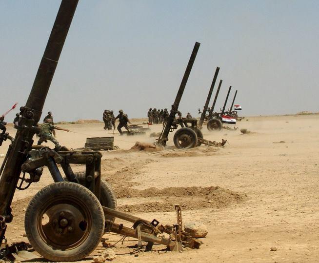 Миномет М-160 в Сирии