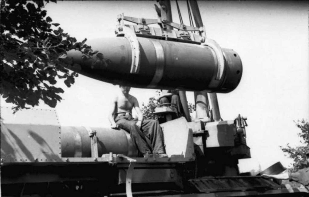 Самоходная немецкая мортира «Карл», 600-мм и 540-мм