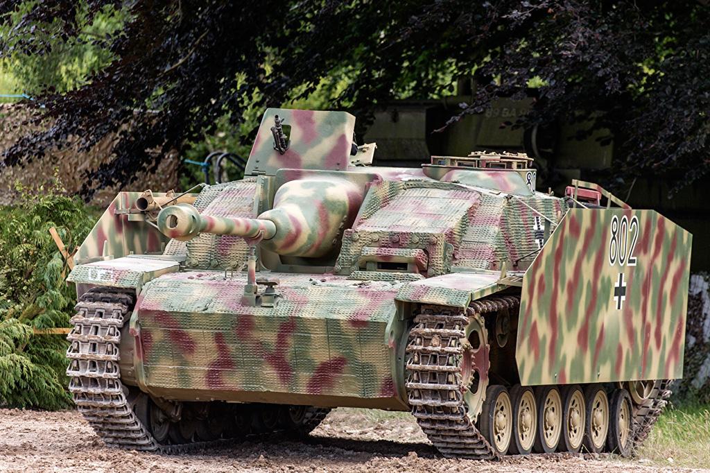 StuG III Ausf G - немецкое штурмовое орудие