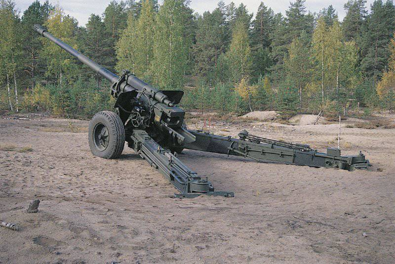 М-46 - полевая 130-мм пушка
