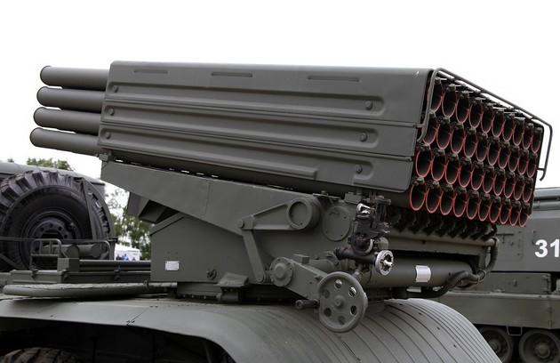 РСЗО 9К51М «Торнадо-Г» - модернизированная реактивная система залпового огня