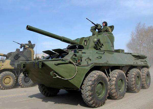 2С23 «Нона-СВК» - 120-мм самоходная артиллерийская установка