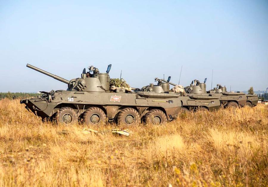 2С23 «Нона-СВК» 3-й мотострелковой дивизии ВС России.