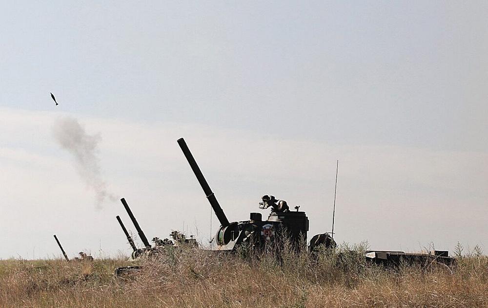 Стрельба САУ 2С23 Нона-СВК