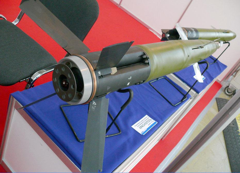 Управляемый снаряд 2К25М «Краснополь-М1»
