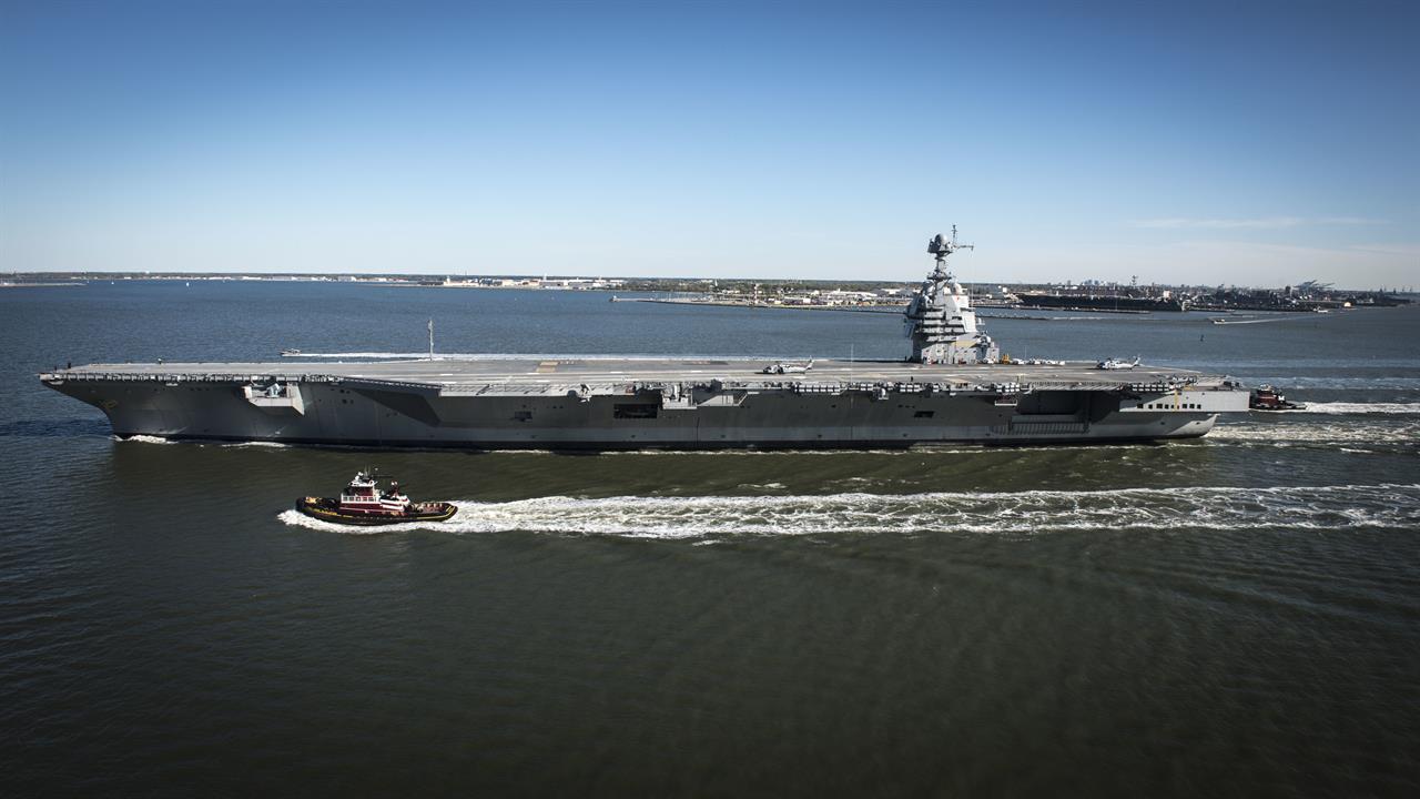 «Джеральд Р. Форд» - американский авианосец