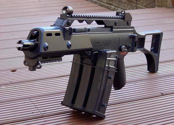 G36 С — субкомпактный карабин для сил специального назначения