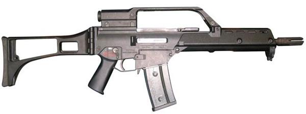 G36 КЕ — экспортный вариант карабина
