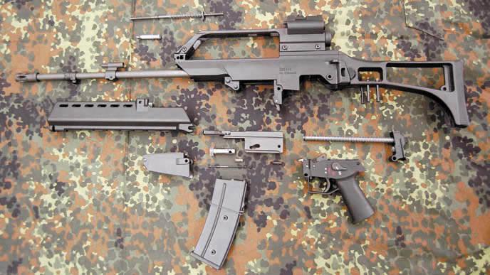 HK G36 (E, K, C, KE) - немецкая автоматическая винтовка