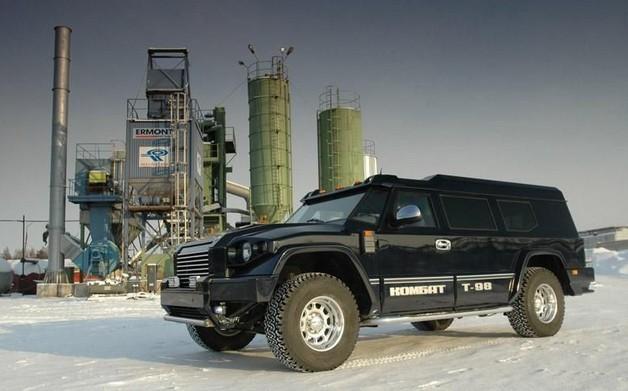 T-98 Комбат - Российский бронированный внедорожник для VIP