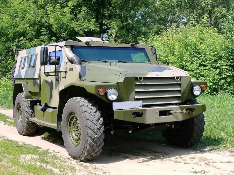 Бронеавтомобиль ВПК-39271 «Волк-1»