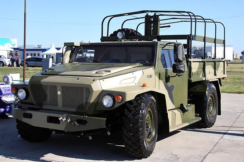 Бронеавтомобиль ВПК-39272 «Волк-2»