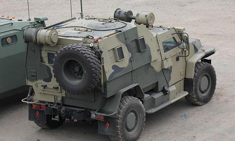 Бронеавтомобиль ВПК-3927 «Волк»