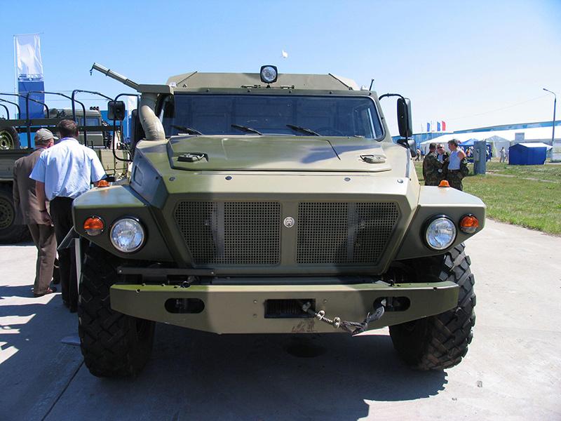 Бронеавтомобиль ВПК-39273 «Волк-3»