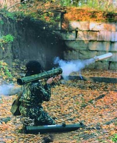 РПО «Шмель» - реактивный пехотный огнемет