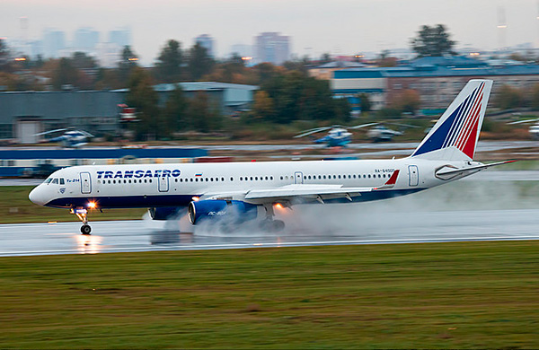 Ту-214 (Ту-204-200) авиакомпании 'Transaero'