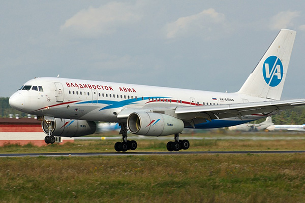 Ту-204-300 авиакомпании 'Владивосток Авиа'