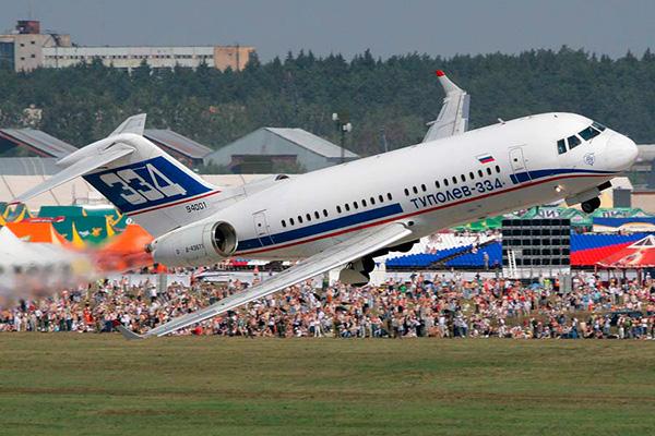 Ту-334 - российский пассажирский самолёт
