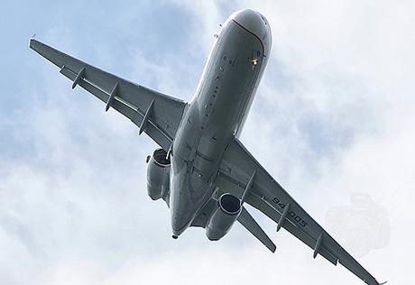 Ту-344 - вид снизу