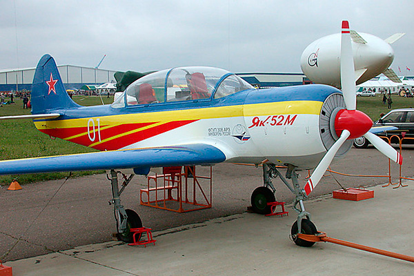 Як-52М - модернизированный