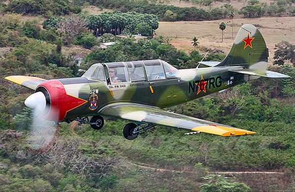 Як-52W - экспортный