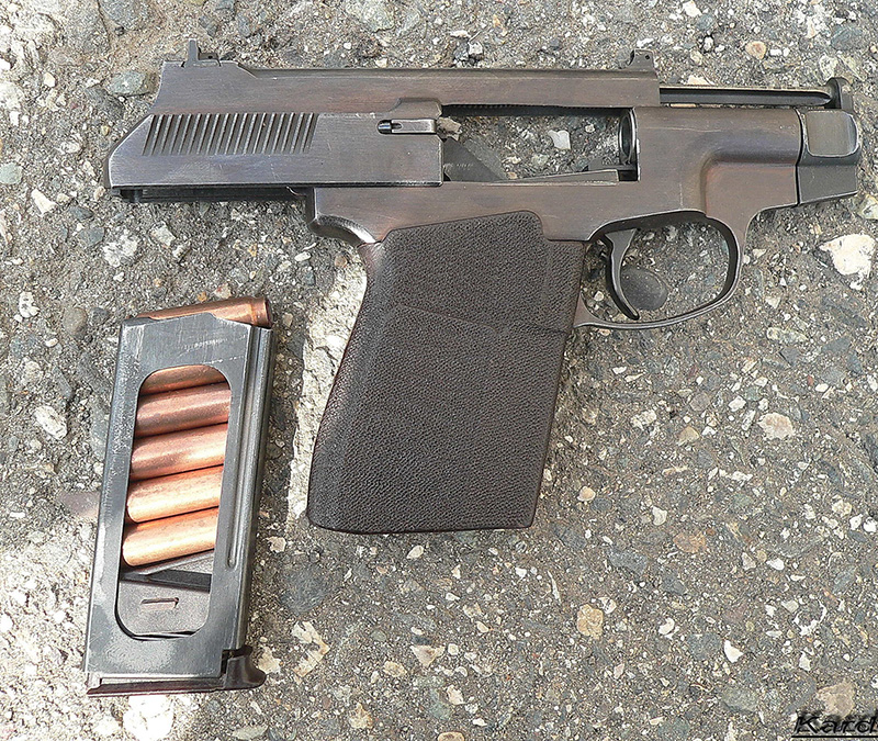 ПСС «Вул» - бесшумный пистолет калибр 7,62 мм