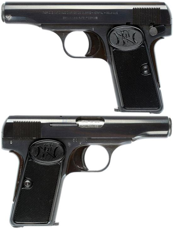 Пистолет Браунинг 1910 года калибра 7.65 мм