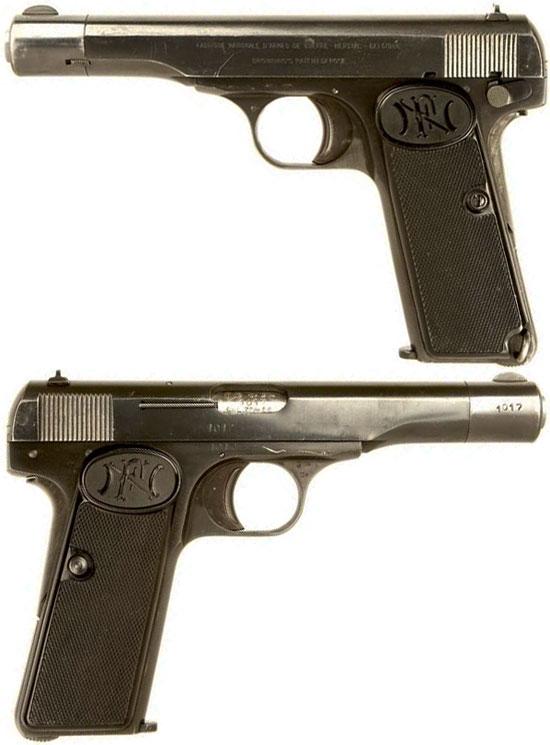 Пистолет Браунинг модель 1910/22 калибра 7.65 мм
