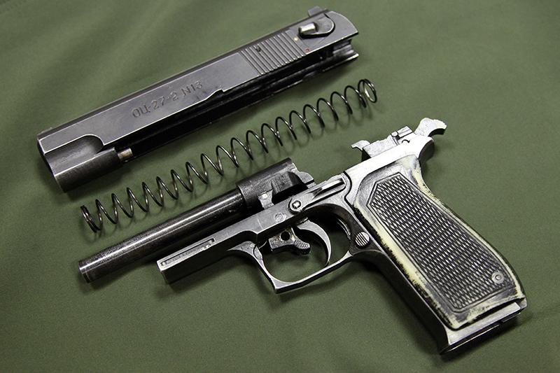 ОЦ-27 «Бердыш» - самозарядный пистолет