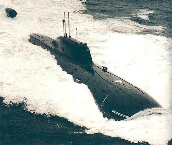Атомная подводная лодка К-480 'Барс'