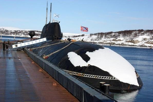 Атомная подводная лодка К-317 'Пантера'