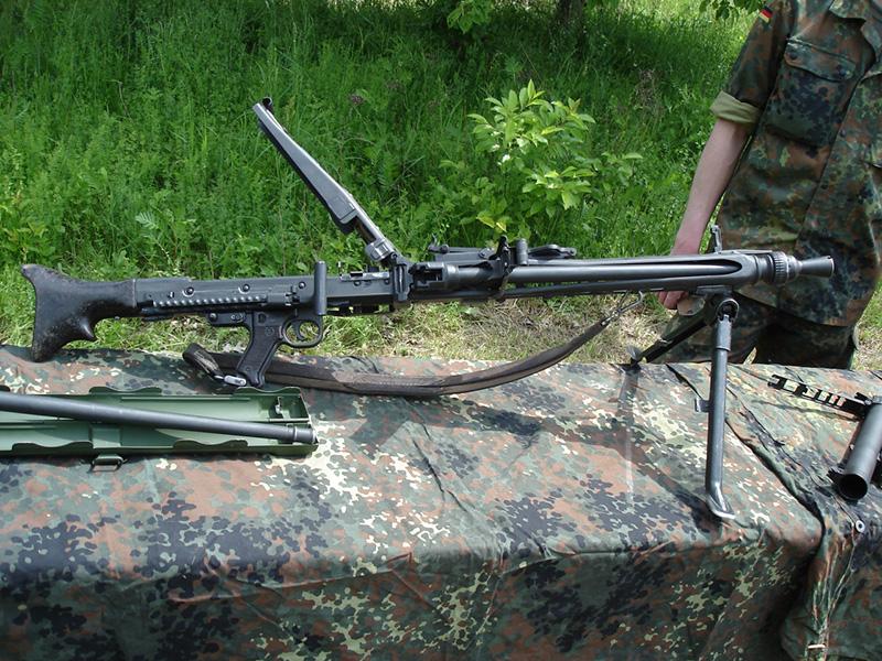 MG3 - немецкий пулемет 7,62-мм