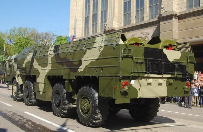 Транспортно-заряжающая машина 9Т250-1 (ТЗМ) РК 9К720 'Искандер-М'